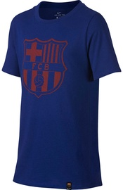 Nike FC Barcelona Crest T-Shirt 859192410 Blue M