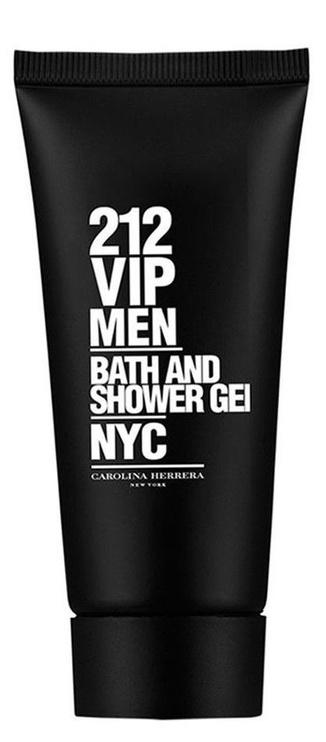 Набор для мужчин Carolina Herrera 212 VIP Black 100 ml EDT + 100 ml Shower Gel + 10 ml EDT