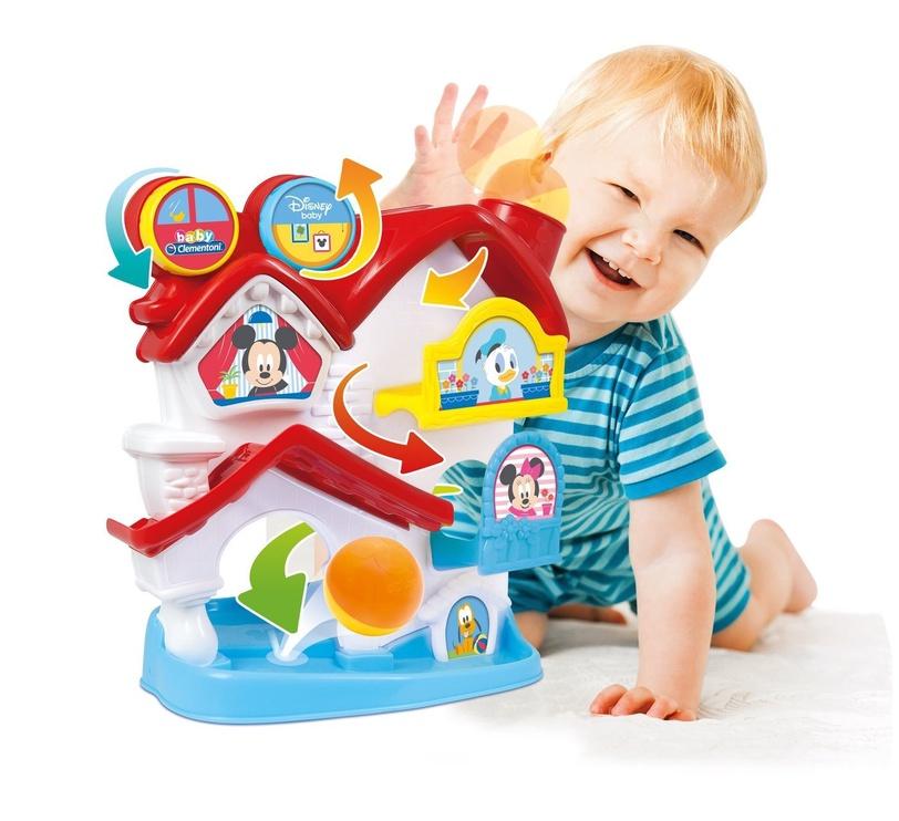 Clementoni Disney Baby Mickey Ball Drop House 00109312