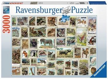 Ravensburger Puzzle Animal Stamps 3000pcs 17079