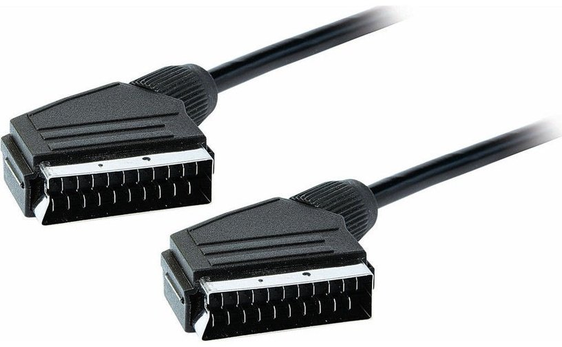 Roger Scart to Scart Video Cable 3m Black