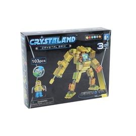 Crystaland Lighted Brix Robot 103pcs 99078