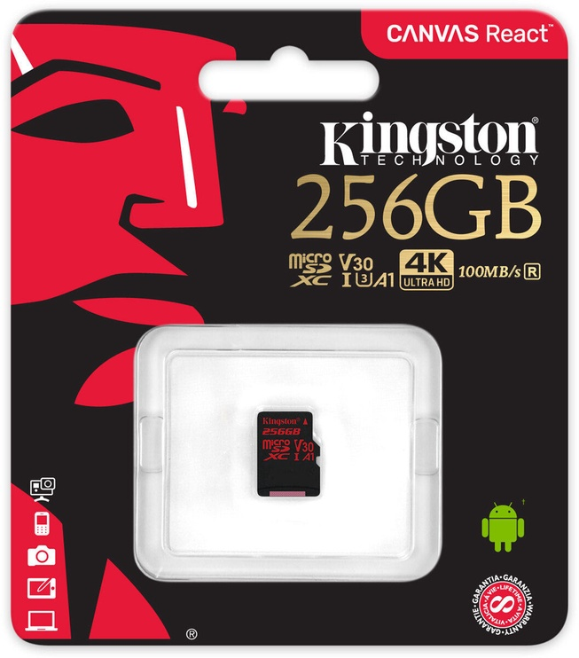 Kingston Canvas React 256GB