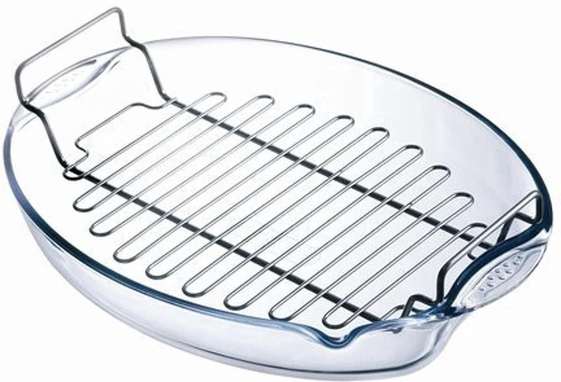 Pyrex Irresistible Roaster With Rack 42x30cm
