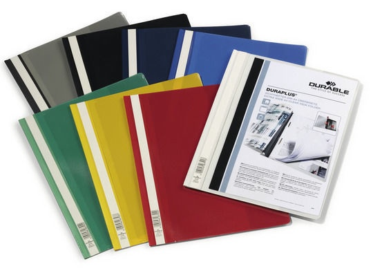 Durable Duraplus Folder Yellow