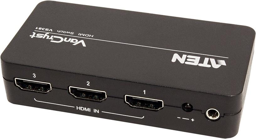 Aten 3-port HDMI Switch VS381-AT + IR Remote Control