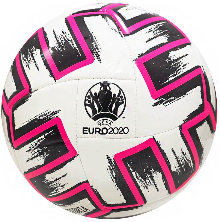 Adidas Uniforia Club Ball White/Black/Pink Size 4