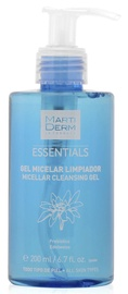Makiažo valiklis Martiderm Essentials Micellar Cleansing Gel, 200 ml