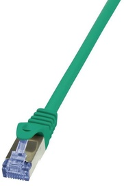 LogiLink CAT 6a S/FTP Cable Green 1.5m