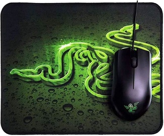 Razer Abyssus Lite Optical Gaming Mouse + Goliathus Mousepad Mobile Construct Edition