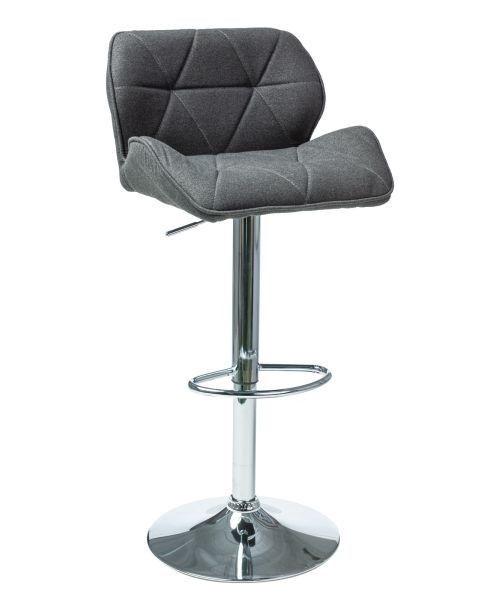 Baro kėdė Signal Meble Modern C-122 Dark Grey, 1 vnt.