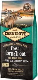 Сухой корм для собак Carnilove Adult Dog Breeds Fresh Carp & Trout 12kg