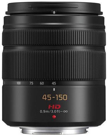 Panasonic LUMIX G VARIO 45-150mm/F4.0-5.6 ASPH./MEGA O.I.S. Black