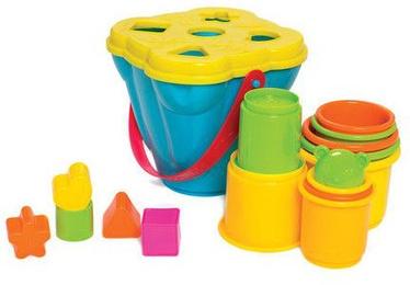 Playgro Shape Sorting & Stacking Buckets 6384153