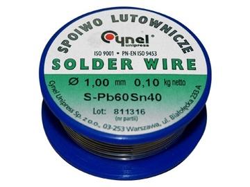 Lydmetalis Cynel SN40, 1 mm, 100 g