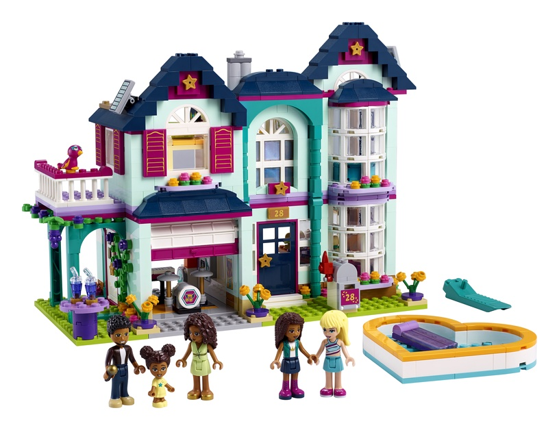 Constructor LEGO Friends Andreas Family House 41449
