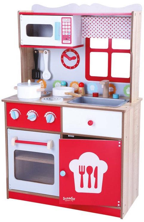 Gerardos Toys Wooden Kitchen Scarlet 41280
