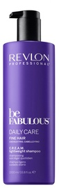 Revlon Professional Be Fabulous Daily Care Fine Hair Cream Lightweight Shampoo 1000ml