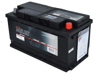 Аккумулятор Miles M100840, 12 В, 100 Ач, 840 а