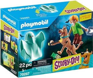 Playmobil Scooby-Doo Scooby And Shaggy With Ghost 70287