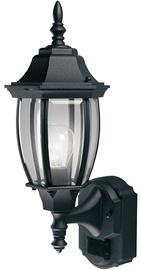 Verners Lantern 60W E27 IP44 Black Plastic