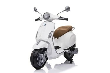 Rotaļlietu bezvadu motocikls Vespa CT-728, balta
