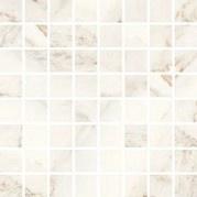 Keraminės dekoruotos sienų mozaikos Car White, 25 x 25 cm