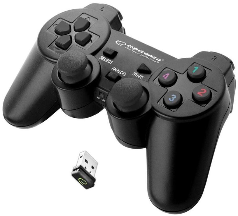 Esperanza Gladiator Wireless Gamepad Black