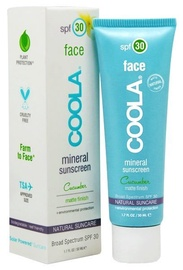 Coola Face Mineral Sunscreen Matte Finish SPF30 50ml