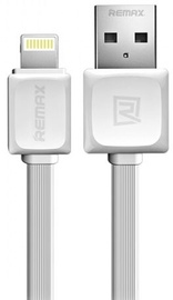 Remax Super Flat Lightning To USB Cable 1m White