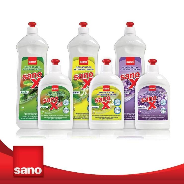 Sano X Scouring Cream Apple 700ml