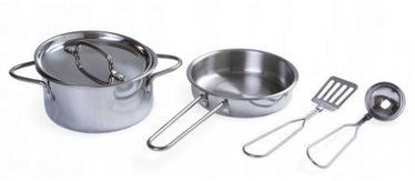 EcoToys Kitchen Metal Accessories 4pcs