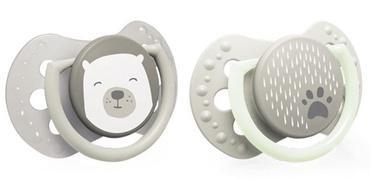 Lovi Dynamic Soother Silicone 2pcs Buddy Bear 22/864 3-6m