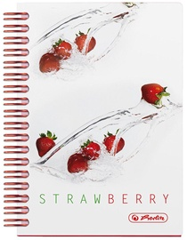 Herlitz Spiral Notepad A6 Fresh Fruit Strawberry 11292125