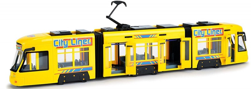 Dickie Toys City Liner 203749005 Yellow