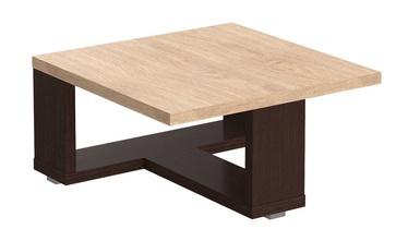 Kafijas galdiņš Skyland ST 884 Devon Oak/Wenge Magic, 800x800x400 mm