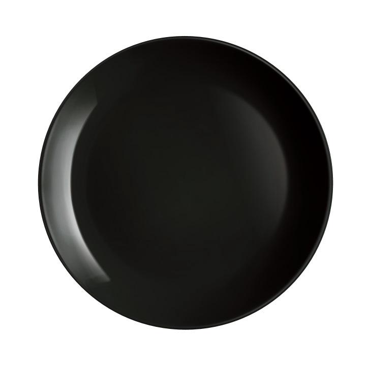 Taldrik Luminarc Diwali Black, must
