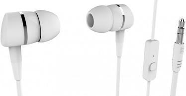 Vivanco Smartsound In-Ear Headphones w/ Mic White