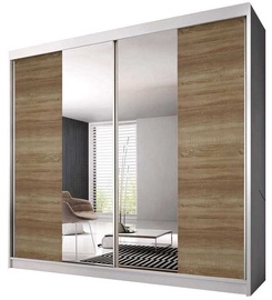 Idzczak Meble Wardrobe Multi 36 183 White/Sonoma Oak