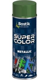 Metalo atspalvio aerozoliniai dažai Bostik, juodi, 400 ml