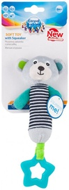Canpol Babies Soft Toy With Squeaker Bear Grey 68/055