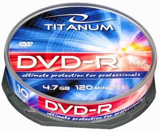 Esperanza 1281 Titanum DVD-R 16x 4.7GB Cake Box 10 DVD's