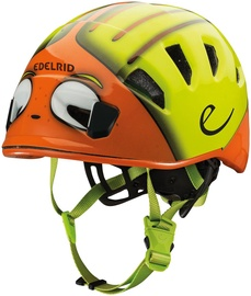 Edelrid Kid's Shield II Helmet 48-56cm Orange / Green