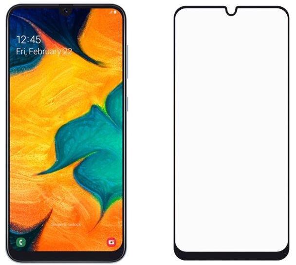Tellur 2.5D Full Glue Screen Protector For Samsung Galaxy A30 Black