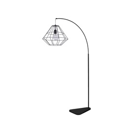 STĀVLAMPA DIAMOND BLACK 3010 60W E27