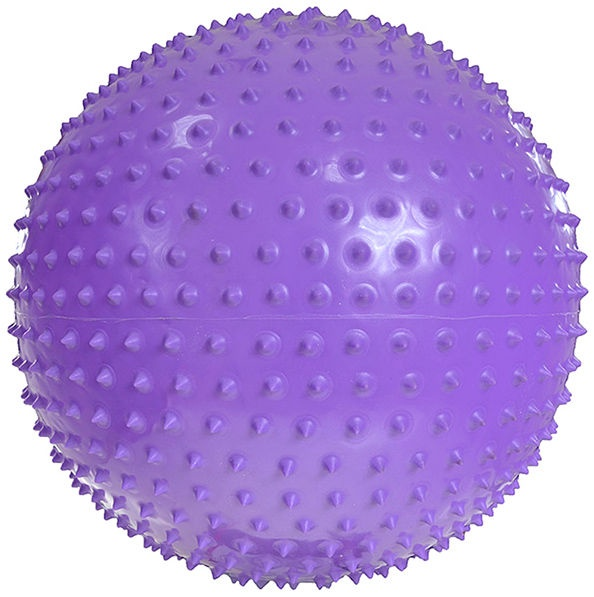 ProFit Football Gym With Message 65cm Purple