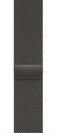 Ремешки Apple 45mm Graphite Milanese Loop, серый
