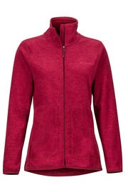 Marmot Womens Fleece Jacket Pisgah Claret S