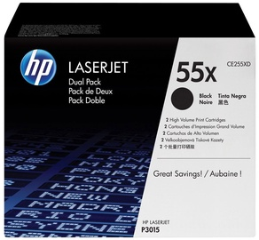 HP LaserJet 55X BLACK Doublepack