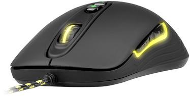 Žaidimų pelė Xtrfy M2 Black, laidinė, optinė